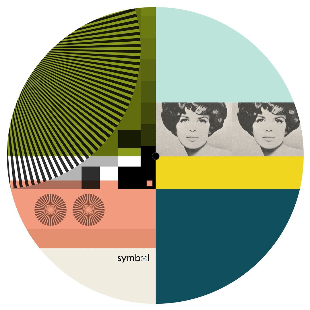Graphic record mat designed for Symbol Audio, 2017, outtake design.