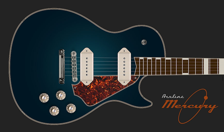 Airline Mercury / Eastwood Guitars, Chris Ferebee