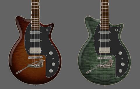 Rendering for PureSalem The Urge | Futura Guitars