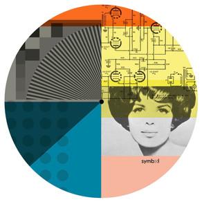 Graphic record mat design (outtake) for Symbol Audio, 2018