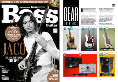Bass Guitar magazine, June 2020, Pigtronix Infinity 2 review