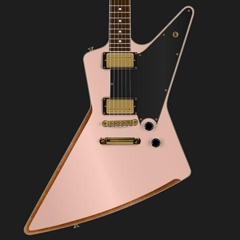 Rendering for PureSalem Cherrybomb | Futura Guitars