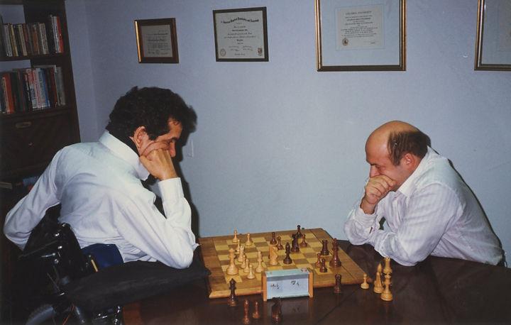 Charles and Natan Sharansky 12-3-90 3 of