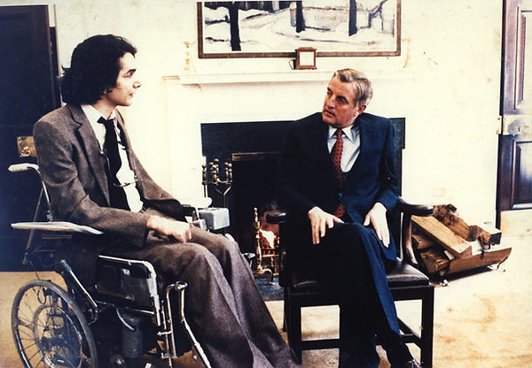 CK with Vice President Mondale - no insc