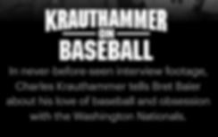 FoxNation - Krauthammer on Baseball desc