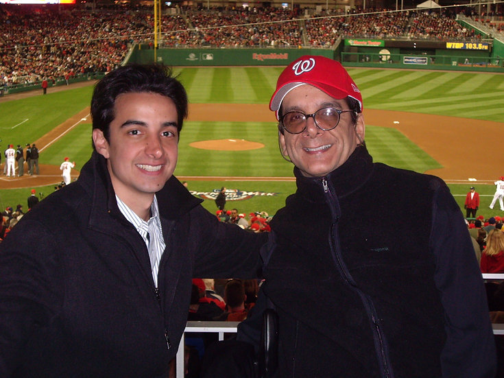 with DK - Nats Park 2008.JPG