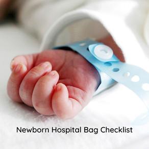 Newborn Baby Hospital Checklist