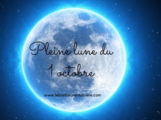 Pleine lune du 1 er octobre