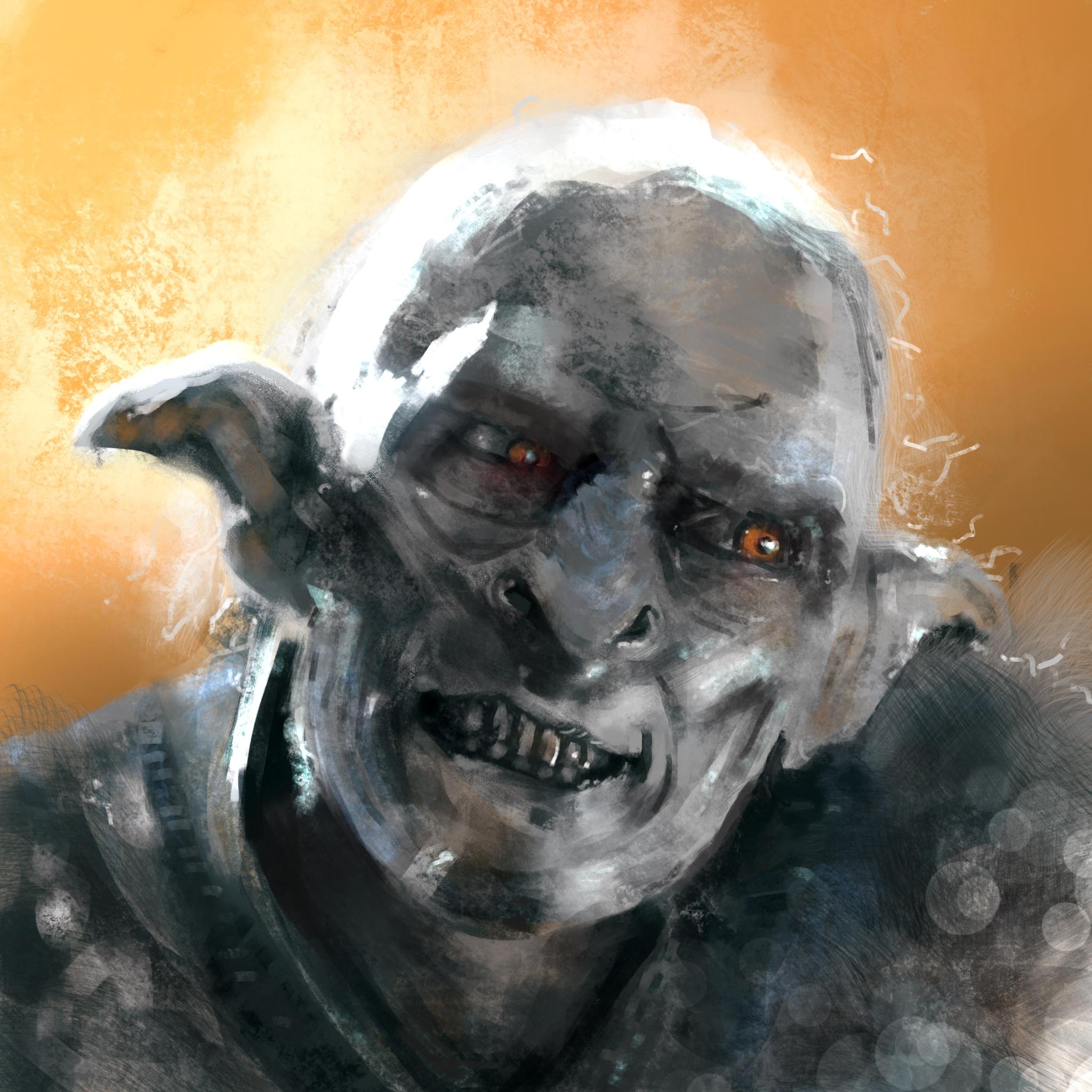 LotR Goblin Study