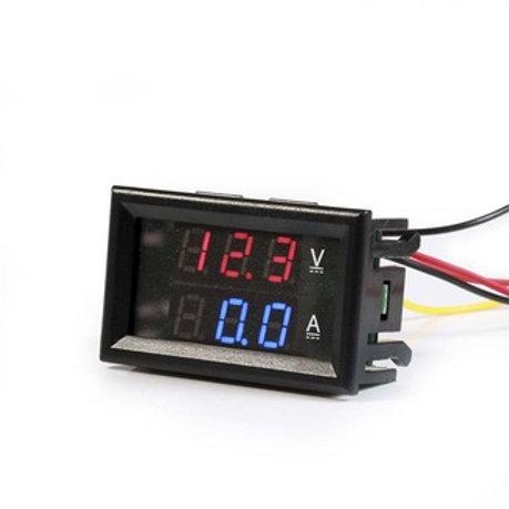 Digital Volt & Amps Meter Circuit