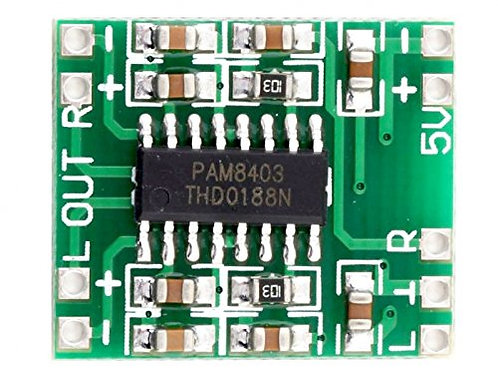 PAM8403 Audio Amplifier Circuit