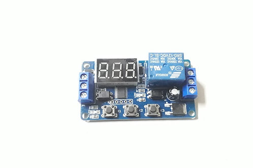 Timer Circuit 0.1s-999m DC & AC, Relay Based