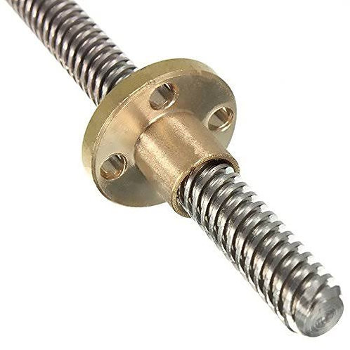Lead Screw & Copper Nut Trapezoidal Thread