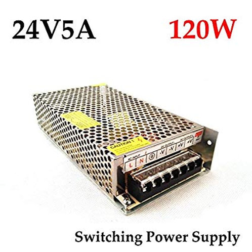 24v 5Amps 120 Watts SMPS For 775/795 motor High Load Work