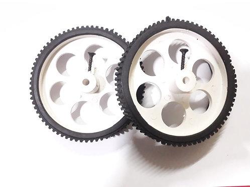 2 Pcs Big Wheel