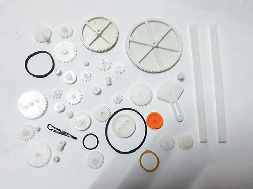 Gear Set, DIY Project Gears, 34 kinds of