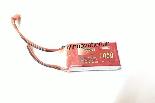 2S LIPO 1050 mah Battery