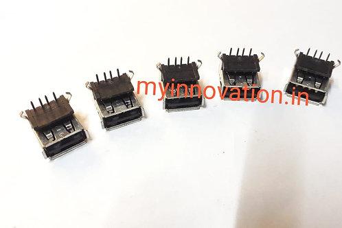 Female USB Port 5Pcs