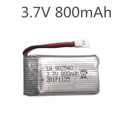 3.7v 800 mah Mini Drone Battery