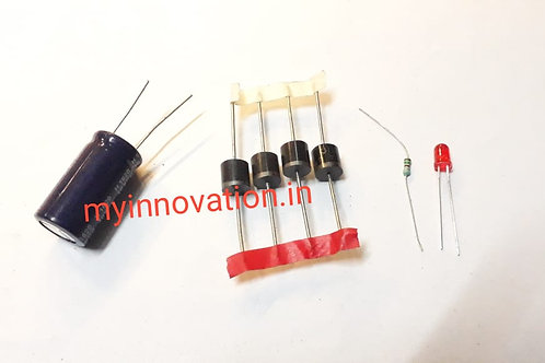 6A Diode 4700uf Capacitor LED Kit