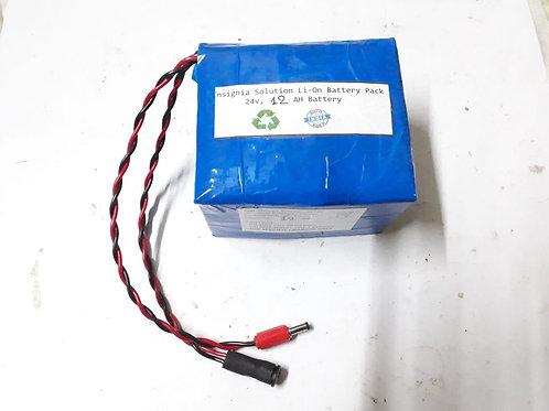 24v 12AH Battery & Charger