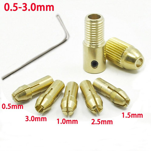 0.5-3 mm Full Drill Set for 555/540 Motor Collect Type