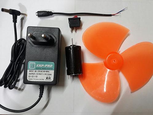 Small Table Fan Set