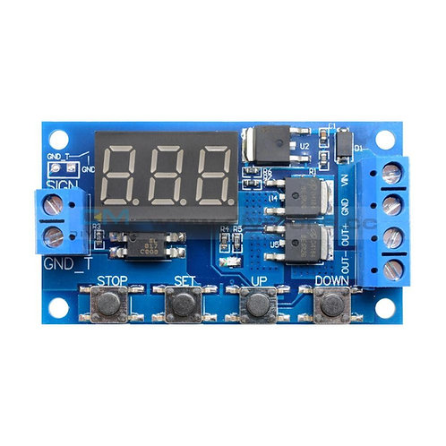 Timer Circuit 0.1s - 999m DC, Mosfet Based