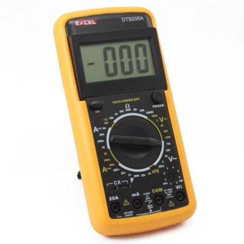9205A Multimeter 20A Current Range