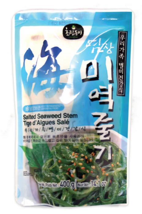 염장 미역줄기   Salted Seaweed Stem   400g