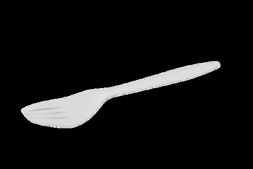 플라스틱 포크(1000pcs)   White Plastic Forks Medium