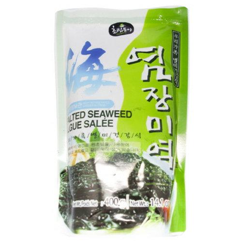 염장 미역   Salted Seaweed   400g