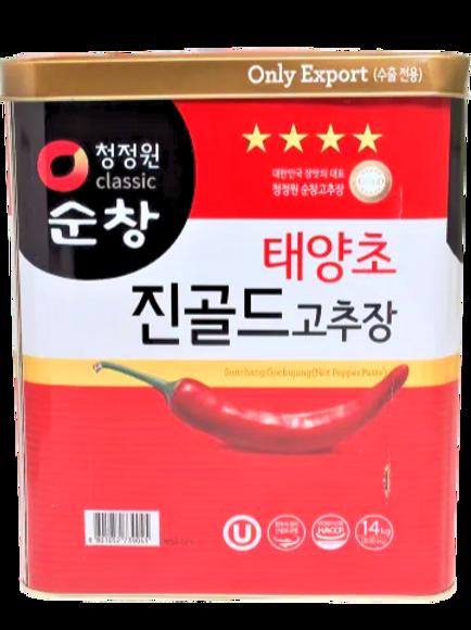 태양초 고추장 Red Pepper Paste 14kg