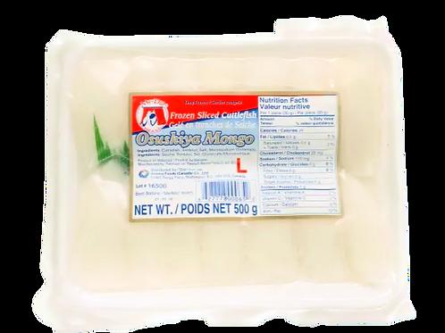 초밥용 오징어   Frozen Sliced Cuttlefish(Sushi)   500g