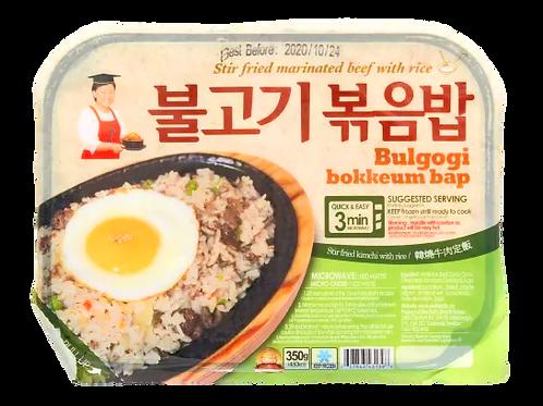 불고기볶음밥   Bulogogi Bokkeumpap(Fried Rice)   350g