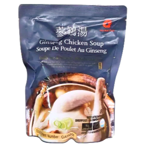 네이비 삼계탕(담백한맛)   Navy Ginseng Chicken Soup(Shiitake Mushroom)   800g