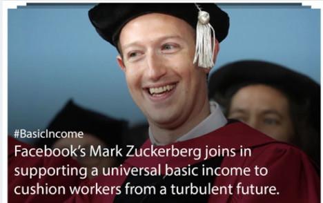 Facebook's Zuckerberg universal basic income