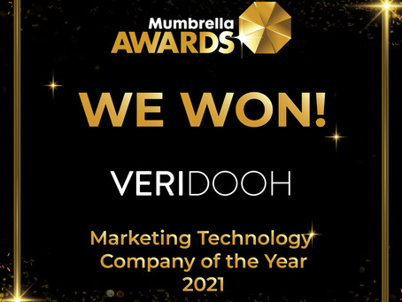 We won! Veridooh is Mumbrella's 2021 Marketing Technology Company of the Year