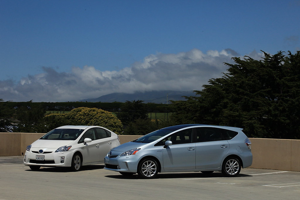 Hybrid cars like Toyota Prius