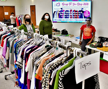 H clothing swap event amanda zakiya jean