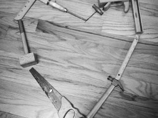 Donated Tools ...a poem