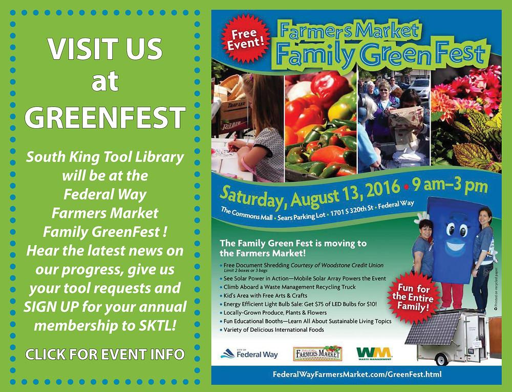 Visit SKTL at Green Fest
