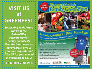 Sign Up for Membership at Green Fest