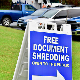 South King Tool Library shredding event
