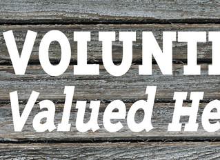 April Events & Volunteers