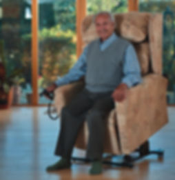 Rise and Recline chairs from Indy Mobility in worcestershire