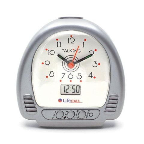 Dual Talking Alarm Clock
