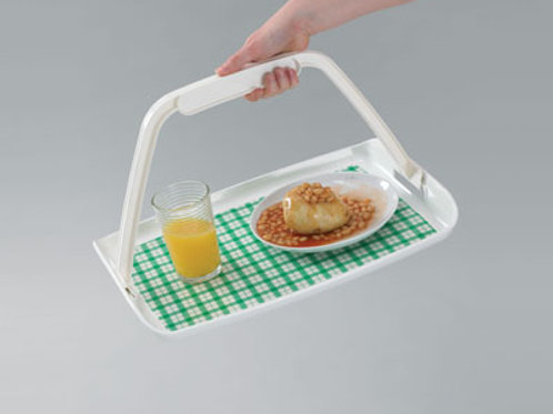 Freehand Tray With Non Slip Mat