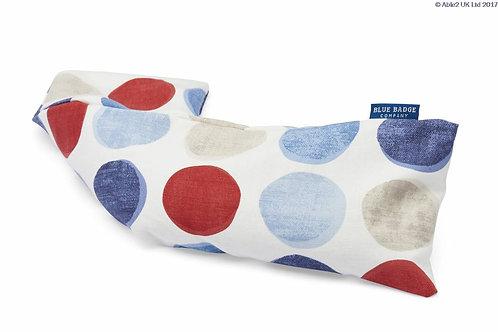 Blue Badge Wheat Warmer Helix Spots Blue/Red