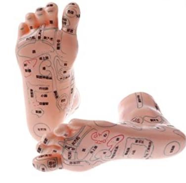 Zoneterapi hos Klinik Ringsing - fodens